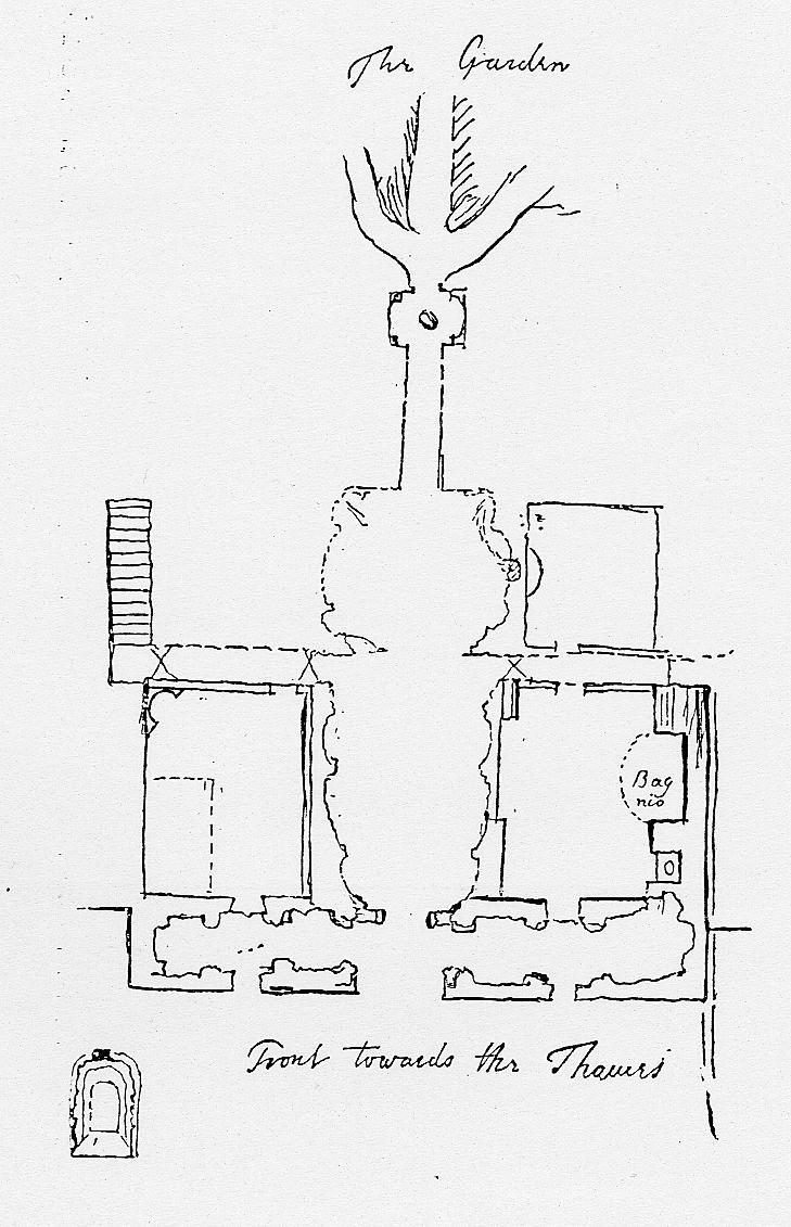 Pope's December 1740 Sketch