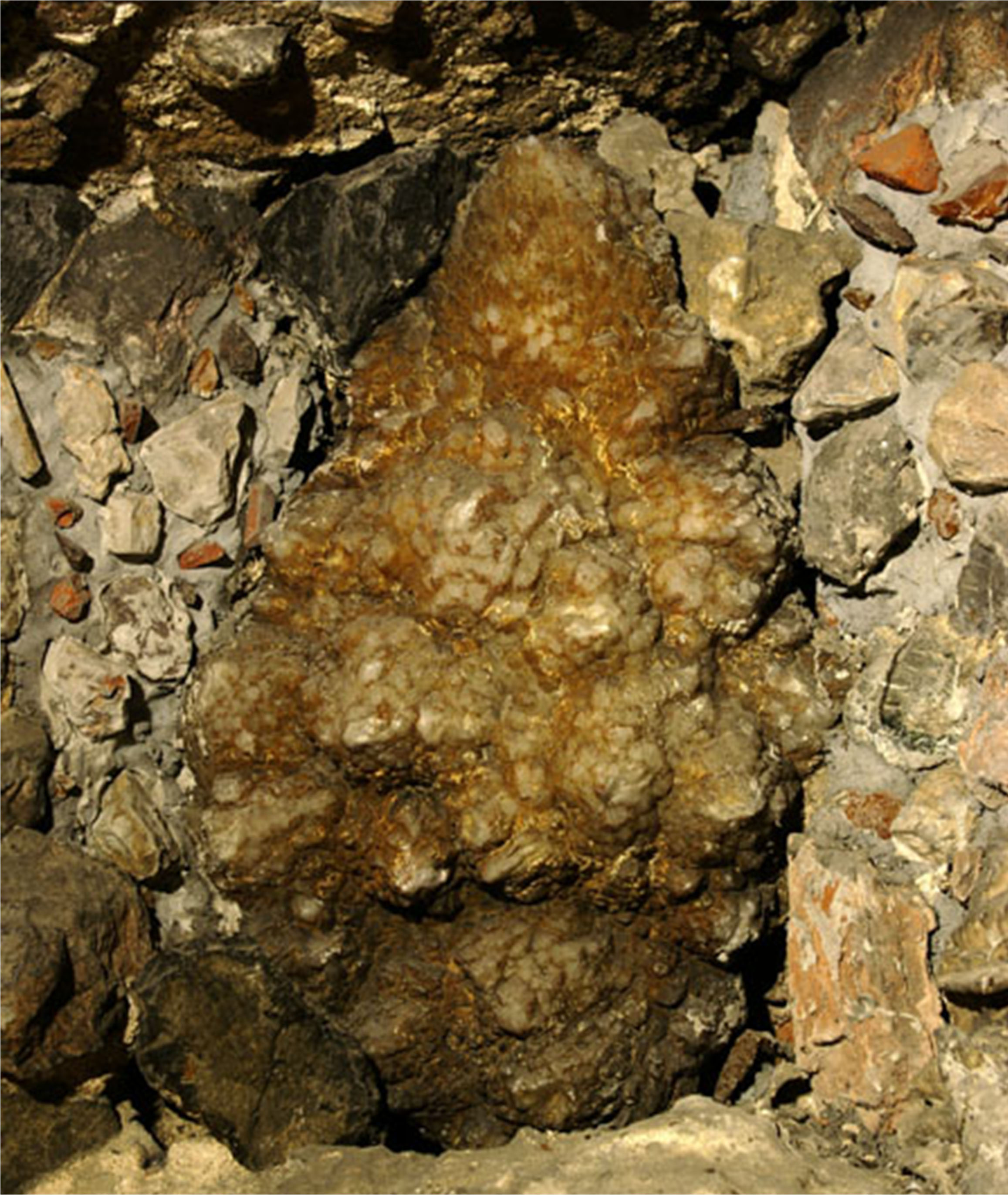 """Mother amethyst"" in the South Chamber"